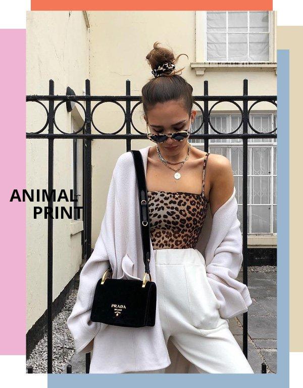 Alicia Roddy - animal print - trendy - verão - street style