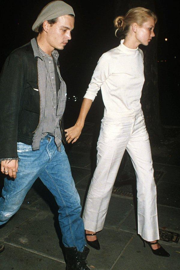 Kate Moss - tendências - all white - verão - street style