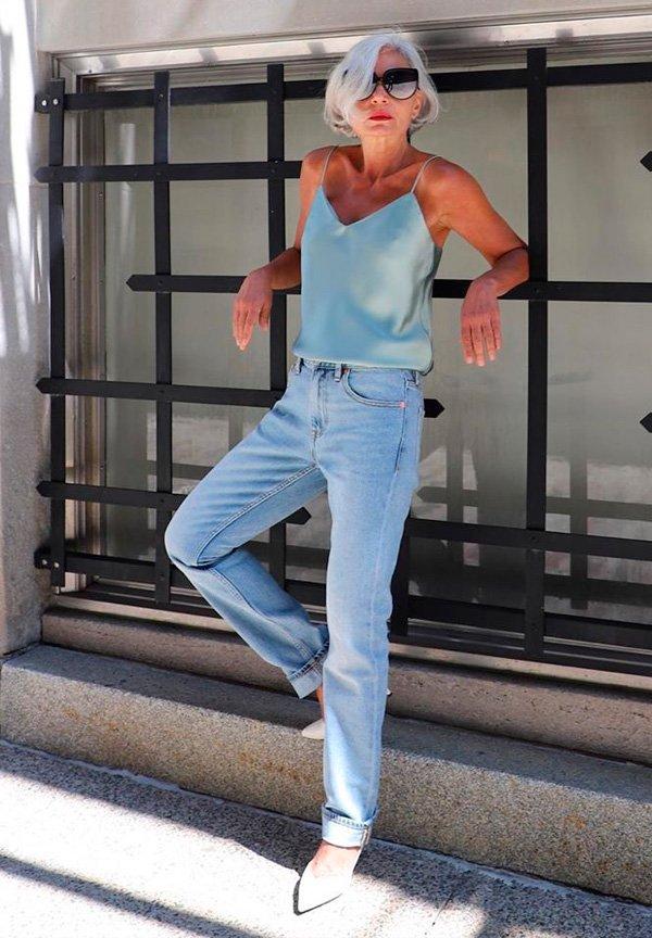 Grece Ghanem - calca-jeans-reta - jeans - verão - street-style