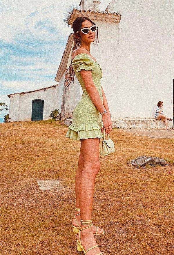 bruna - marquezine - look - verao - moda