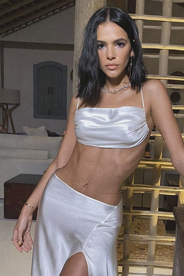 Bruna Marquezine - look réveillon - look réveillon - verão - street style