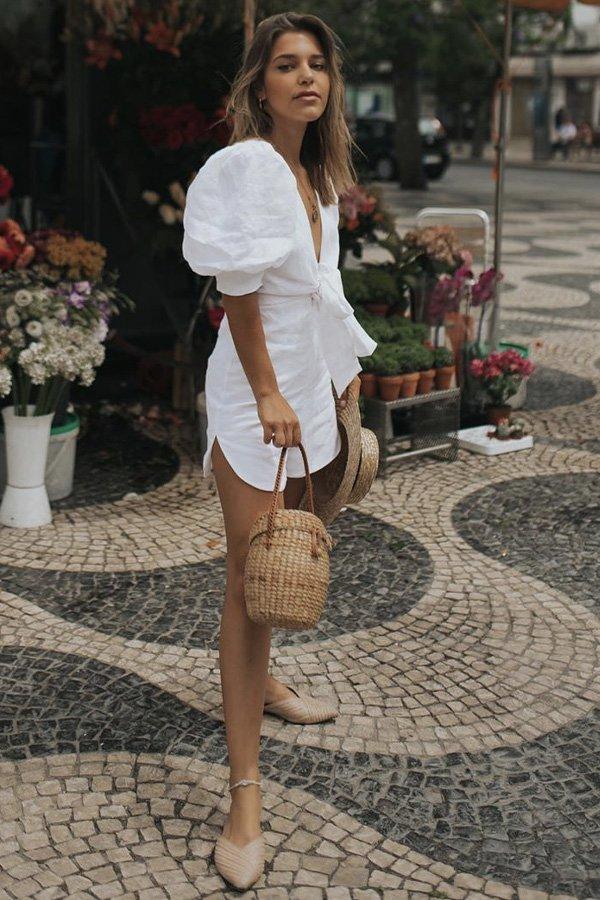 Catarina Pereira - mule - mule - verão - street style