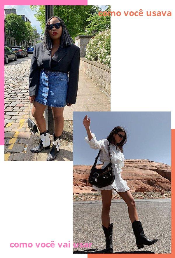 It girls - Cowboy boots - Cowboy boots - Verão - Street Style