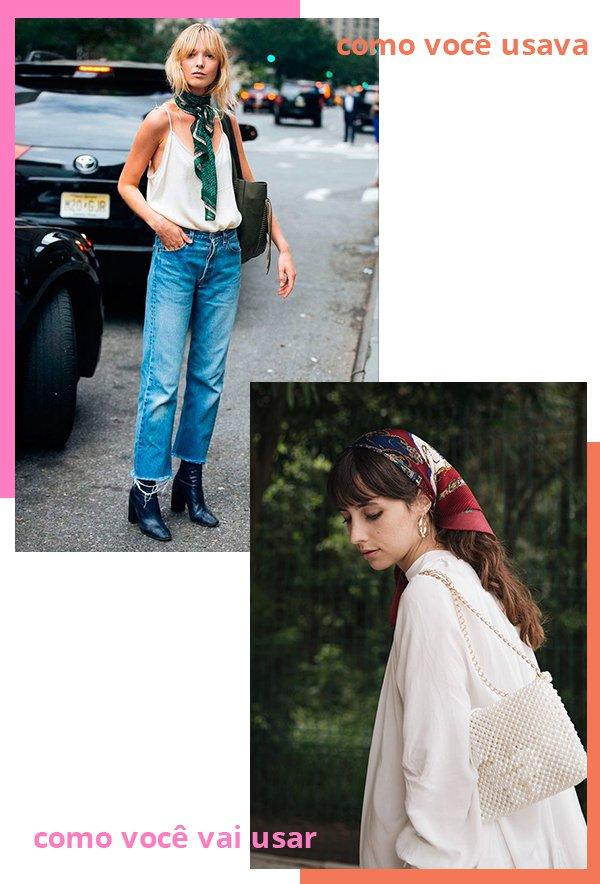 It girls - Lenço - Lenço - Verão - Street Style