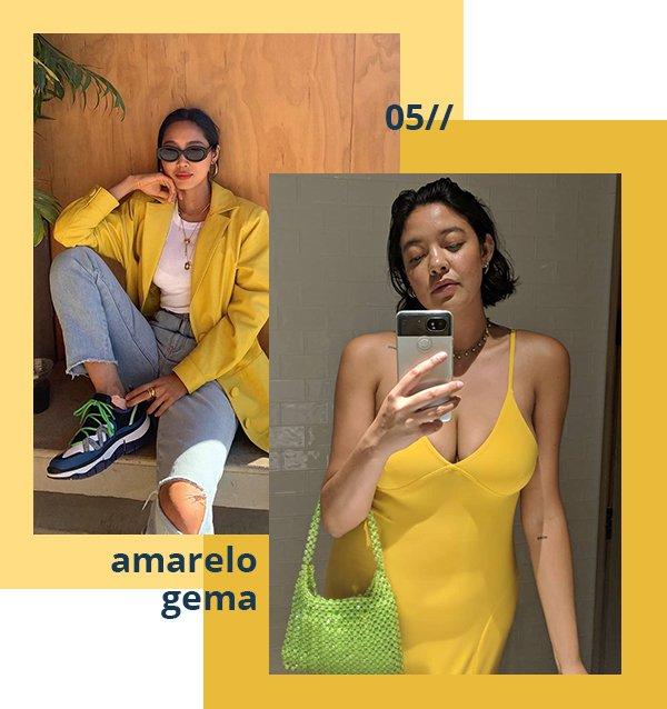 It girls - Amarelo gema - Amarelo gema - Verão - Street Style