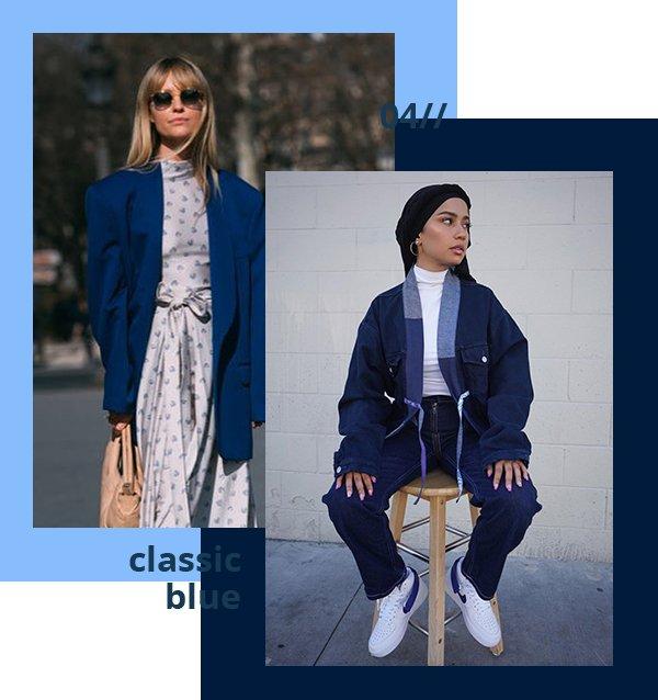 It girls - Classic Blue - Classic Blue - Verão - Street Style
