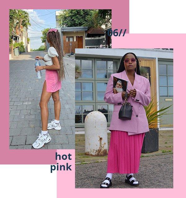 It girls - Hot pink - Hot pink - Verão - Street Style
