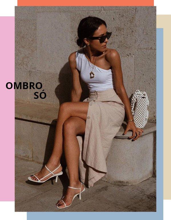 Débora Rosa - ombro só - trendy - verão - street style