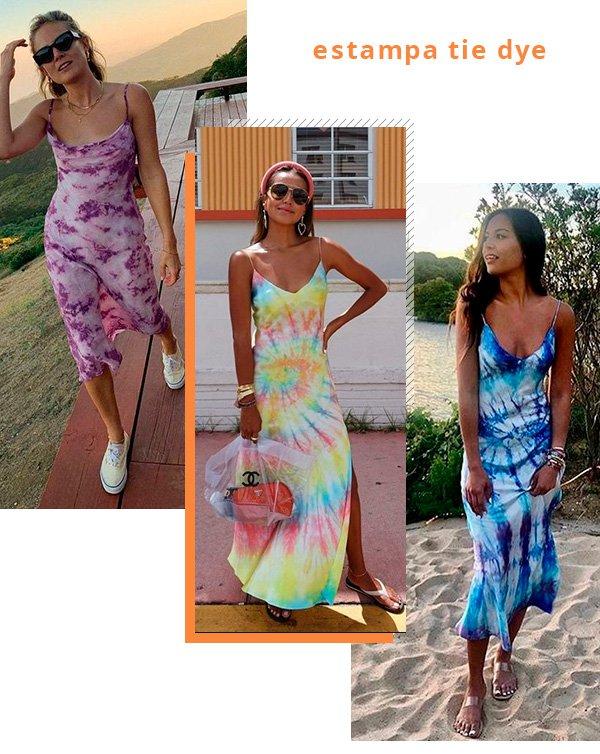 estampa - tie - dye - vestidos - looks