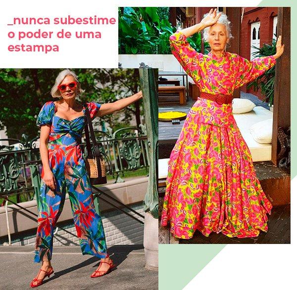 estampas - looks - moda - licoes - estilo