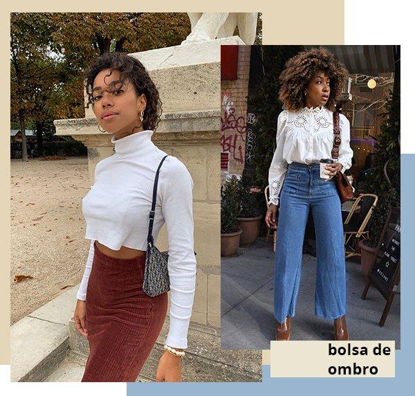 It girls - Bolsa de ombro - Clássicos - Verão - Street Style