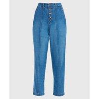 Calça Jeans Slim Nervura Frente E Costas