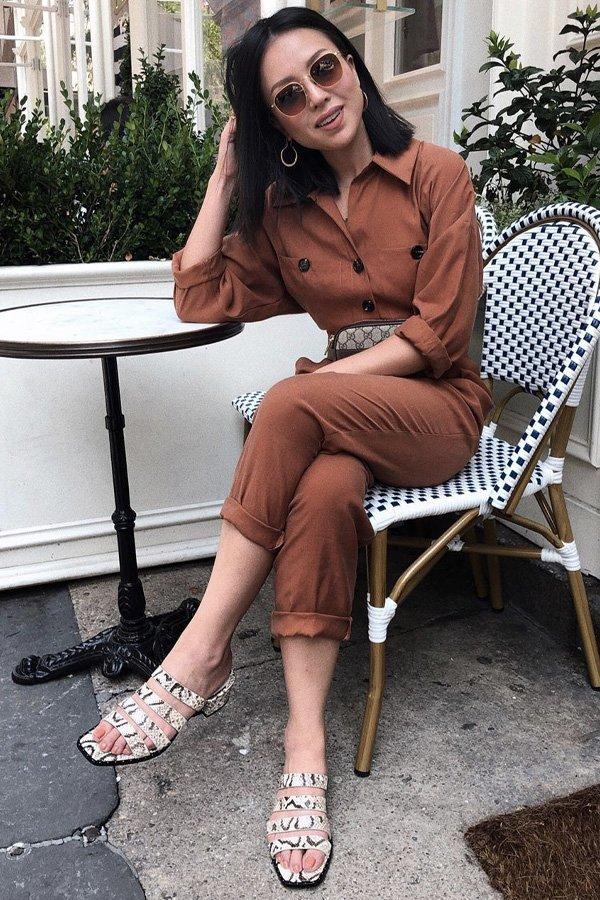 Kate Ogata - mule - mule - verão - street style