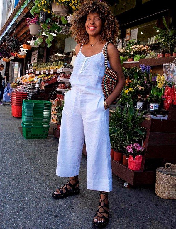 look - all white - sandalia - verao - trend
