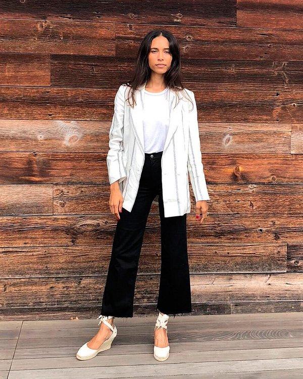 TyLynn Nguyen - blazer - blazer - verão - street-style