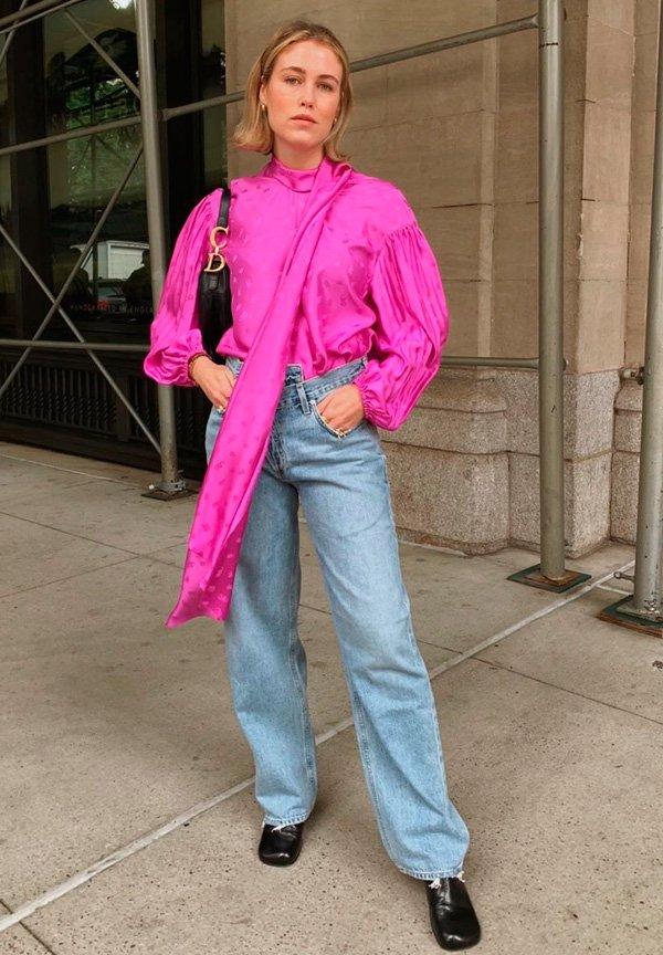 Annabel Rosendahl - calca-jeans-reta - jeans - verão - street-style