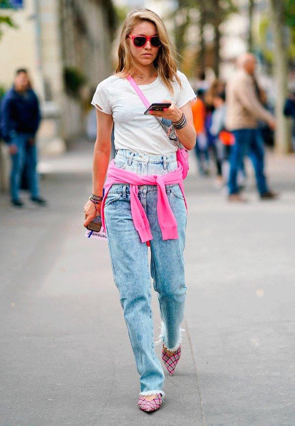 it-girl - calca-jeans-reta - jeans - verão - street-style