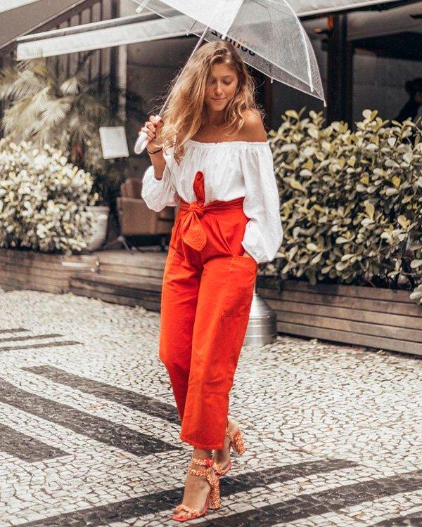 Giulia Diniz - ombro-a-ombro - ombros de fora - verão - street-style