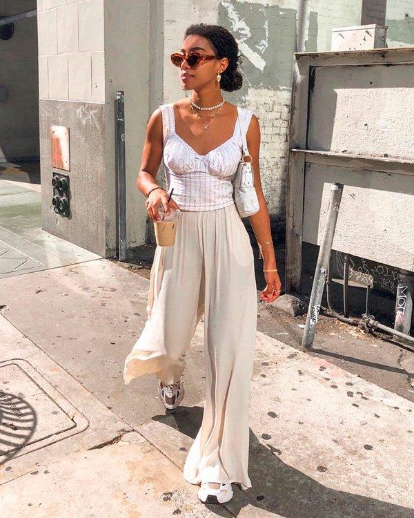 Amaka Hamelijnck - pantalona - pantalona - verão - street-style