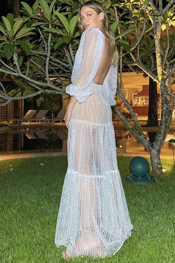 Marcella Tranchesi - look réveillon - look réveillon - verão - street style