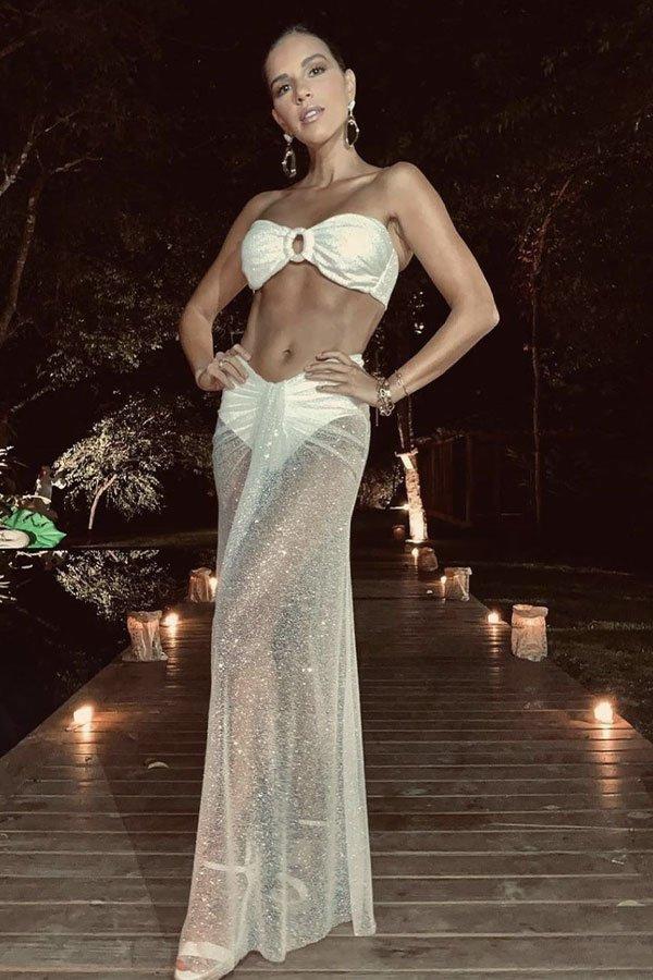 Mariana Rios - look réveillon - look réveillon - verão - street style