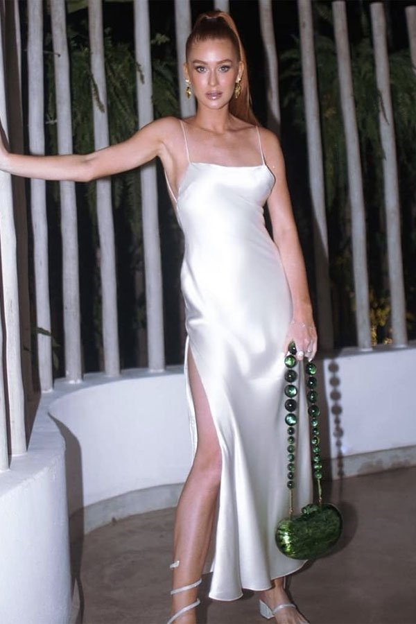 Marina Ruy Barbosa - look réveillon - LOOK RÉVEILLon - verão - street style