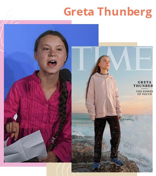 Greta Thunberg - Mulheres - Revolucionaram - Verão - Street Style