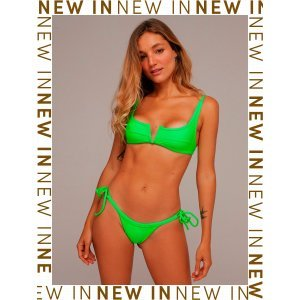 Bikini Lana Verde Neon - Gg Verde