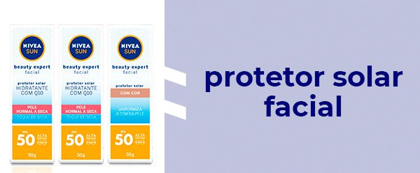 protetor - solar - looks - nivea - farmacia