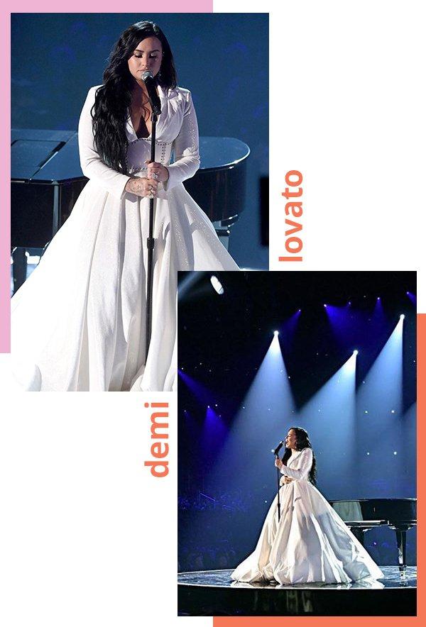 Demi Lovato - Grammy Awards - Grammy Awards - Verão - Street Style