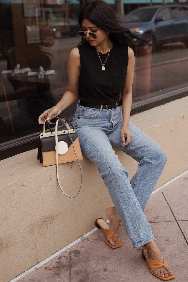 Sheryl - jeans e flats - jeans e flats - verão - street style