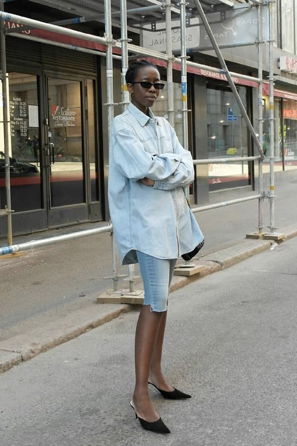 Sylvie Mus - mule - mule - verão - street style