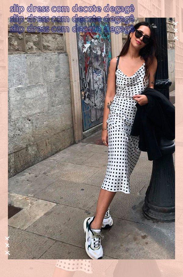 Vic Hollo - vestido - poá - verão - street-style