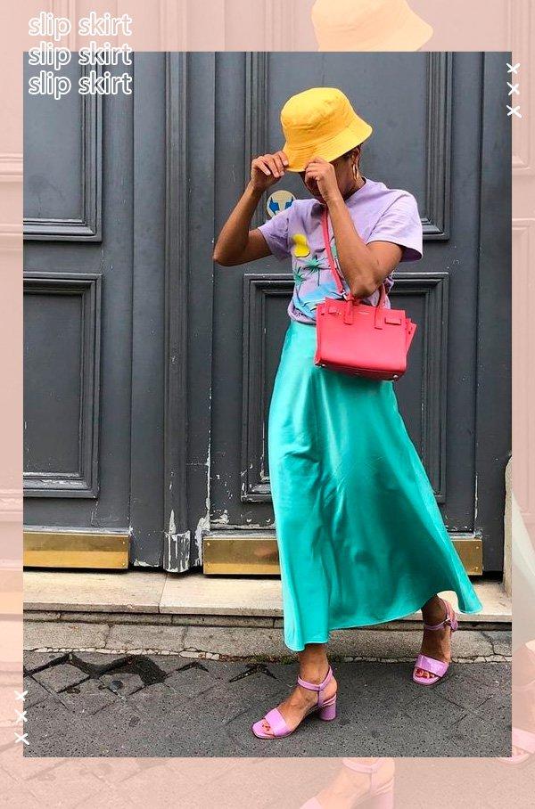 it-girl - saia-verde - saia - verão - street-style