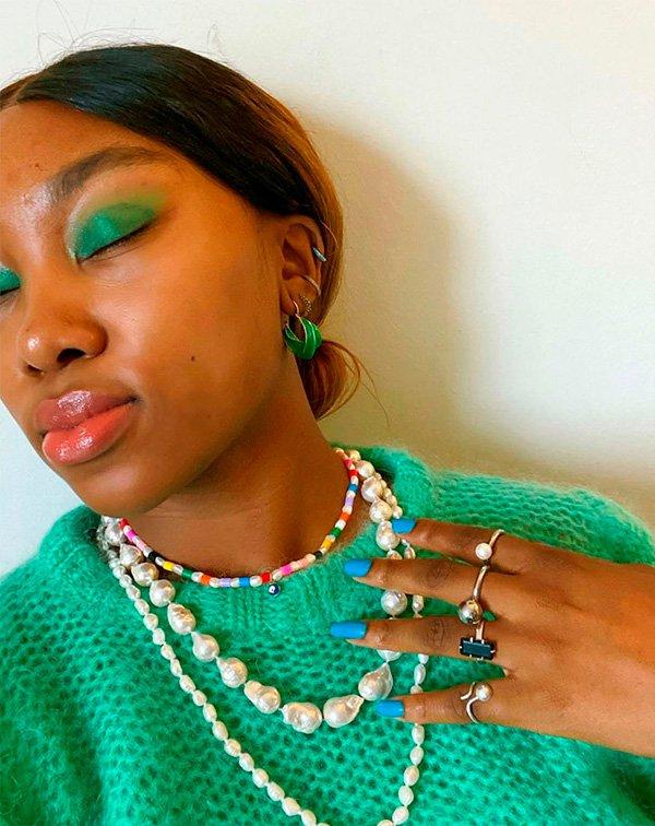 verde - make - beleza - fresh - moda