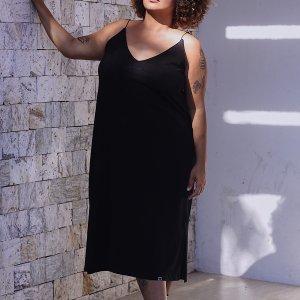 Vestido Midi - Gg Preto