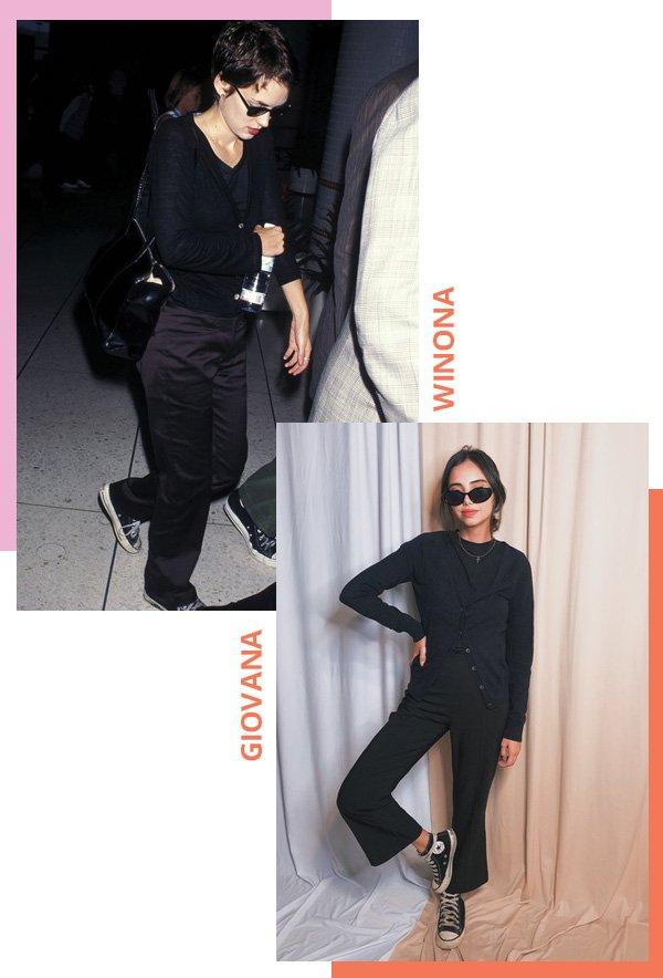 Winona Ryder, Giovana Marçon - Winona Ryder anos 90 - Winona Ryder - verão - street style