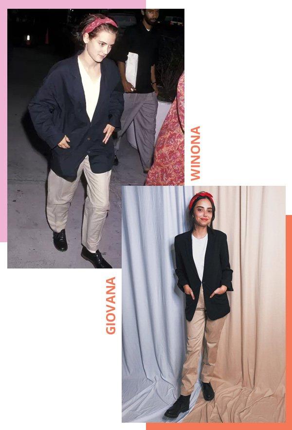 Winona Ryder, Giovana Marçon - Winona Ryder anos 90 - wino - verão - street style