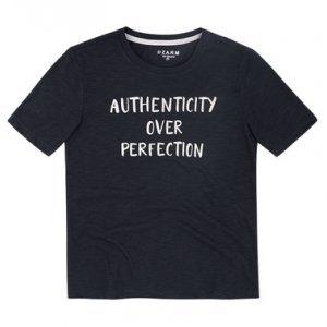 T-Shirt Flamê Com Estampa Frontal