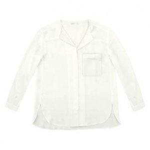 Camisa Manga Longa Em Crepe