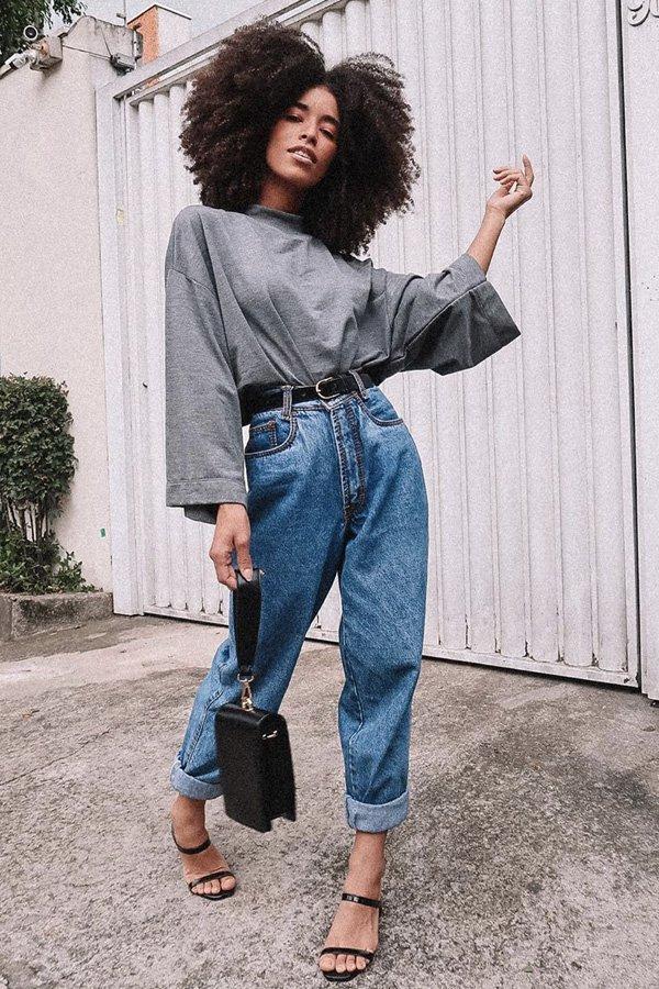 amanda mendes - baggy jeans - jeans - verão - street style