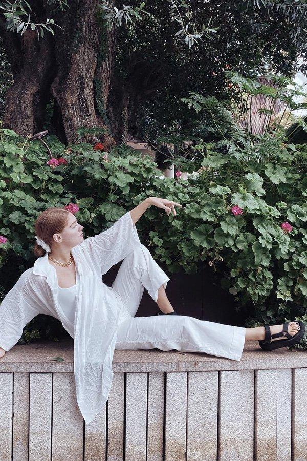 Brigette Muller - papete - sandália trendy - verão - street style