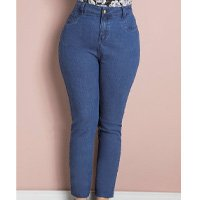 Quintess - Calça Jeans Skinny Plus Size