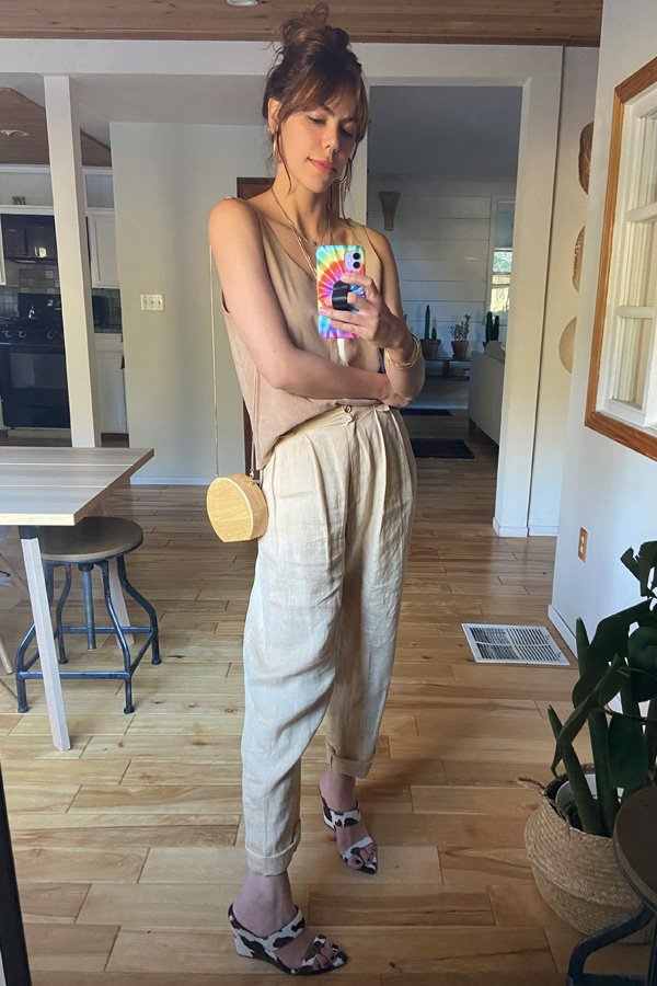 Catharina Dieterich - bege - looks bege - verão - street style
