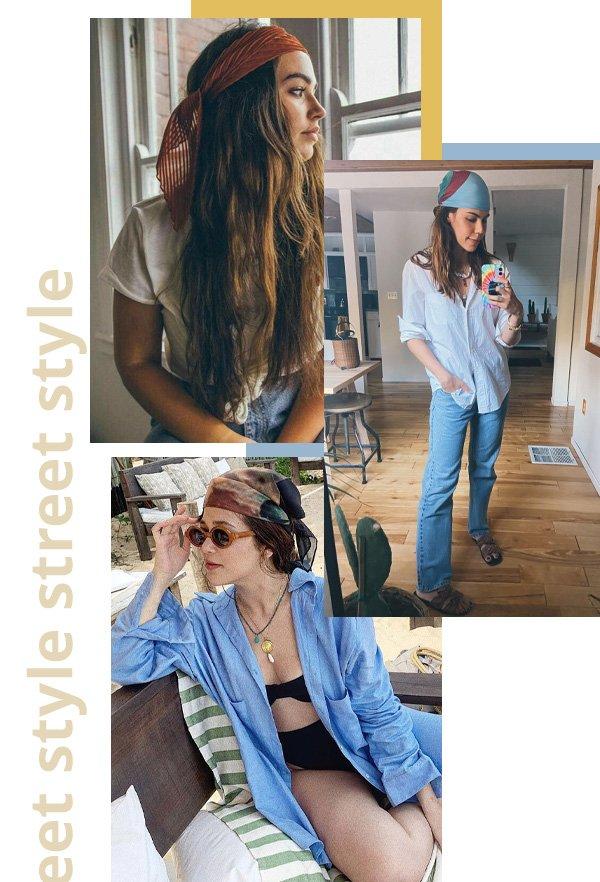 Catharina Dieterich, Victoria Yamagata - bad hair days - truques de styling da PFW - verão - street style