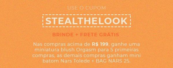 cupom  - nars - sephora - desconto - produtos