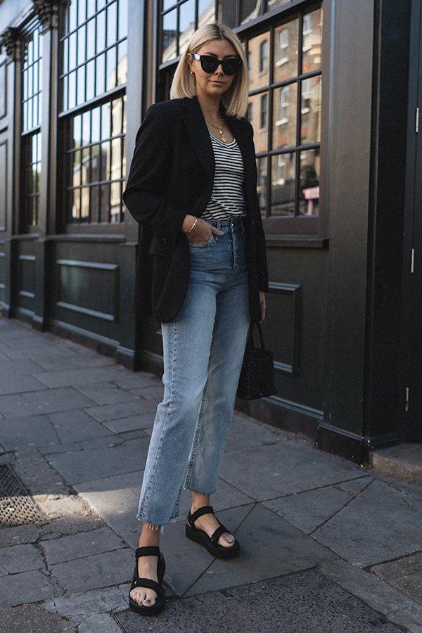 Emma Hill - papete - sandália - verão - street style