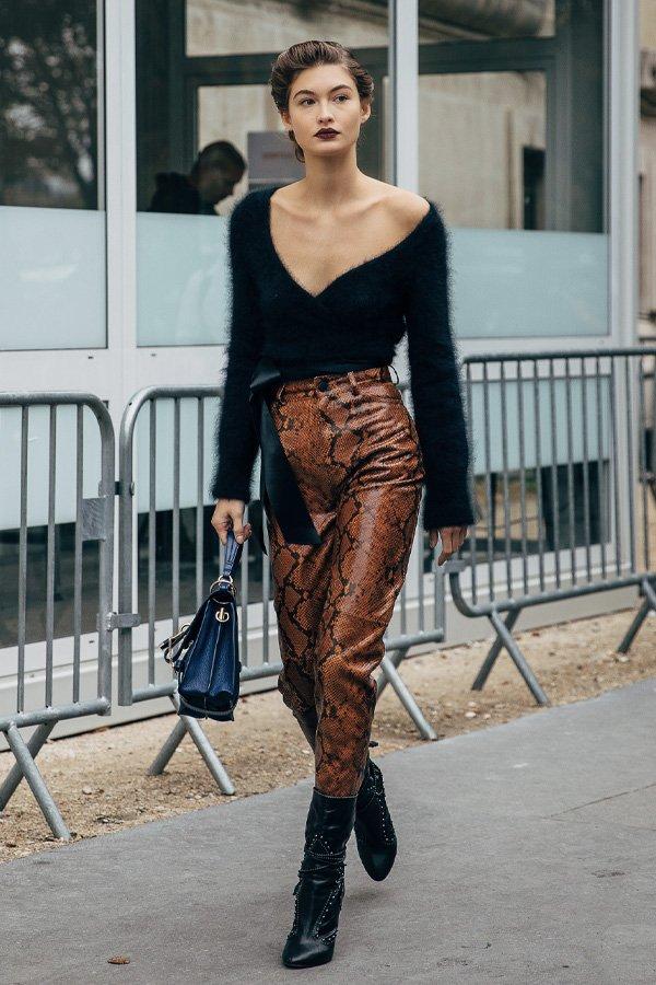 Grace Elizabeth - bota - tendências de inverno - verão - street style