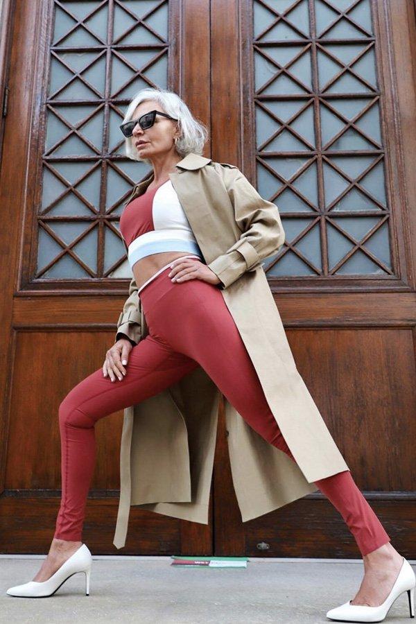 Grece Ghanem - casaco - trench coat - verão - street style