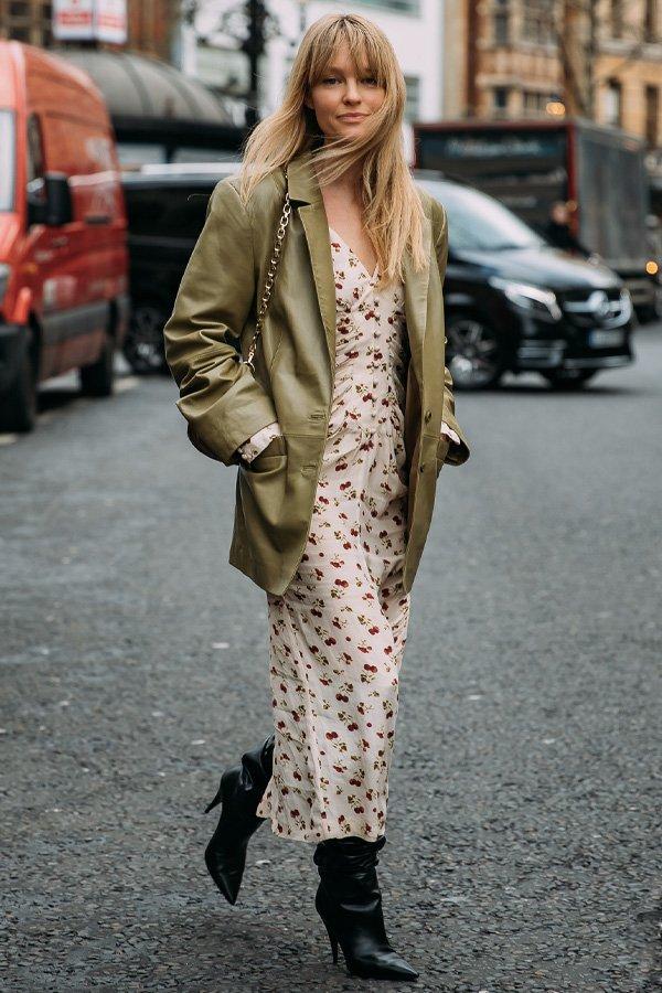 Jeanette Friis Madsen - casaco verde - casaco - verão - street style